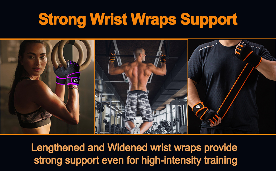 Strong Wrist Wraps Support
