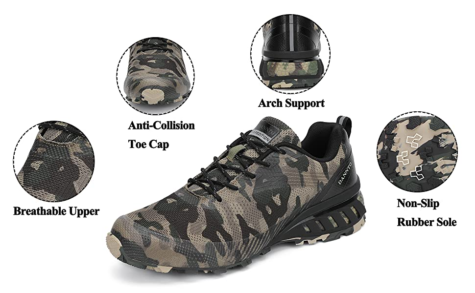 men trail running camping shoes tennis climbing sports jogging athletic sneakers fashion footwear