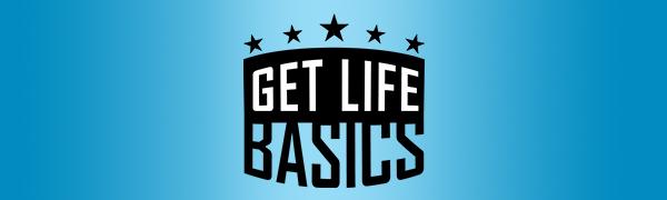 GET LIFE BASICS World Globe with Stand