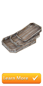 serving tray with handles ottoman coffee tray  for living room platter wooden trays decor
