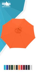 Outdoor Umbrella Replacement Top