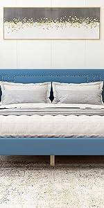 Upholstered Platform Bed