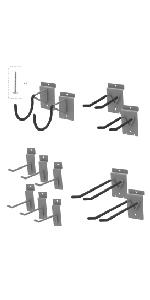 Slatwall Utility Hook Set
