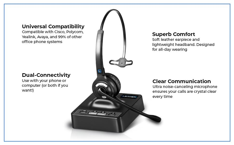 Leitner LH270 Headset Features