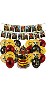 harry potter birthday party supplies