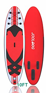 inflatable paddleboard Red