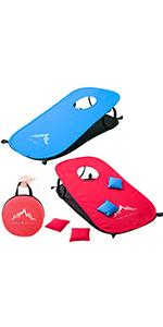 Himal Collapsible Portable Cornhole Game Boards