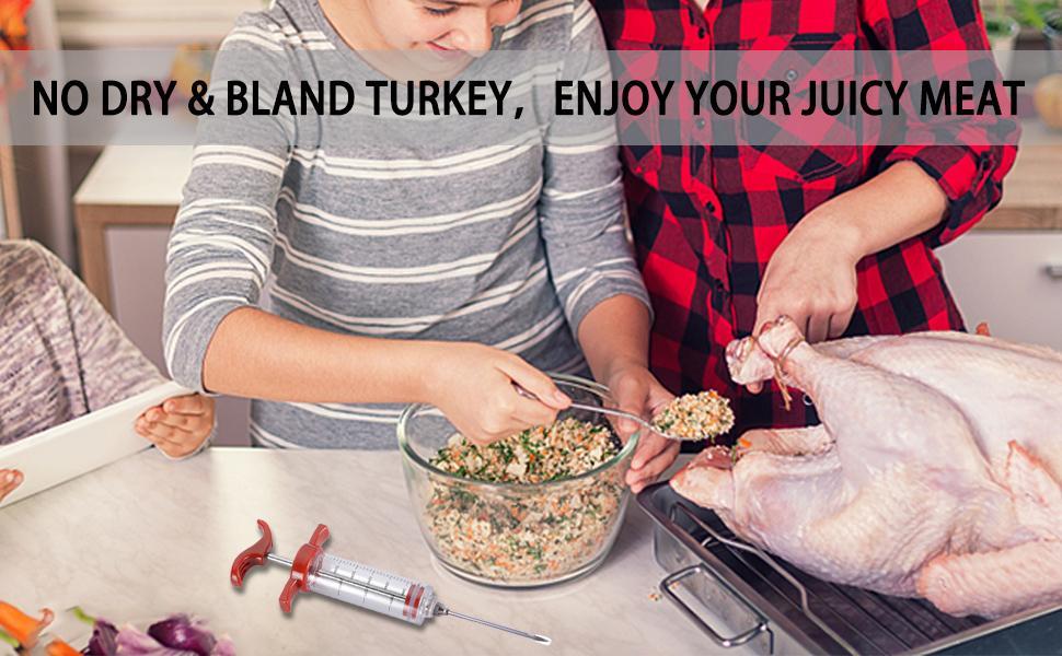 turkey injector syringe
