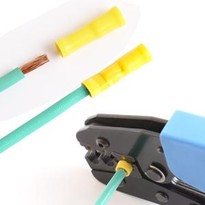 yellow bullet connectors