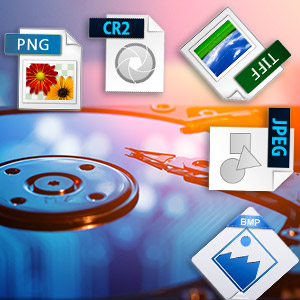 Recovers on various types of files