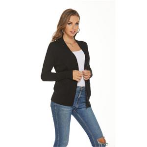 black sweater