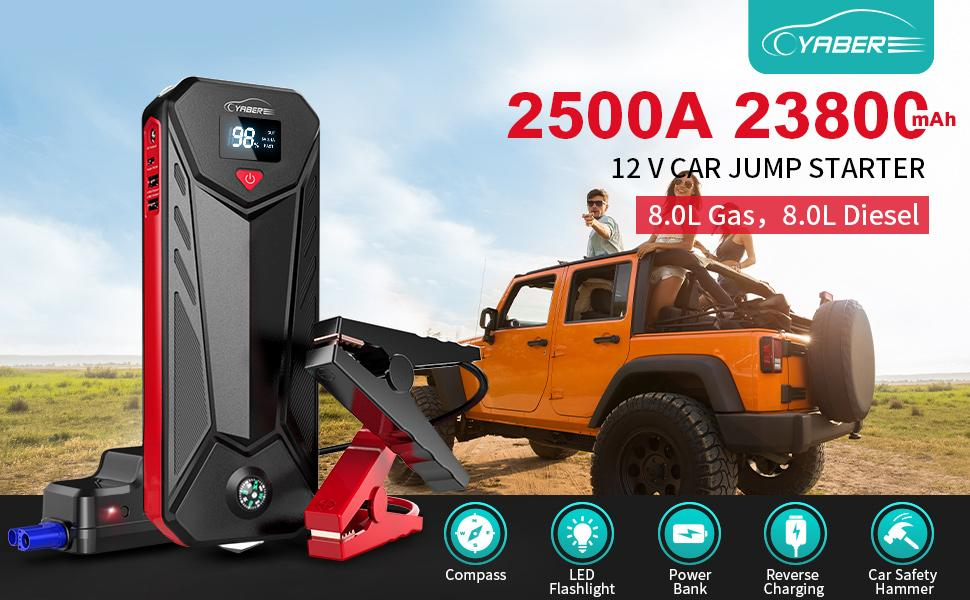 YABER Jump jump starters & battery chargers