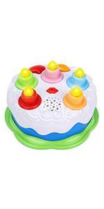 Baby Toys Birthday Cake Green