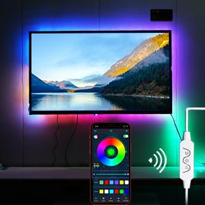 led strip lights  tv
