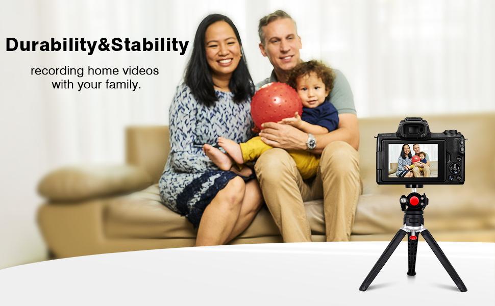 Mini Camera Stand Tripod for Recording Your Family
