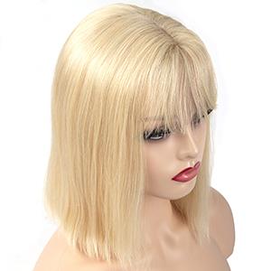 613 blonde bob wigs human hair