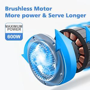 powerful brushless motor