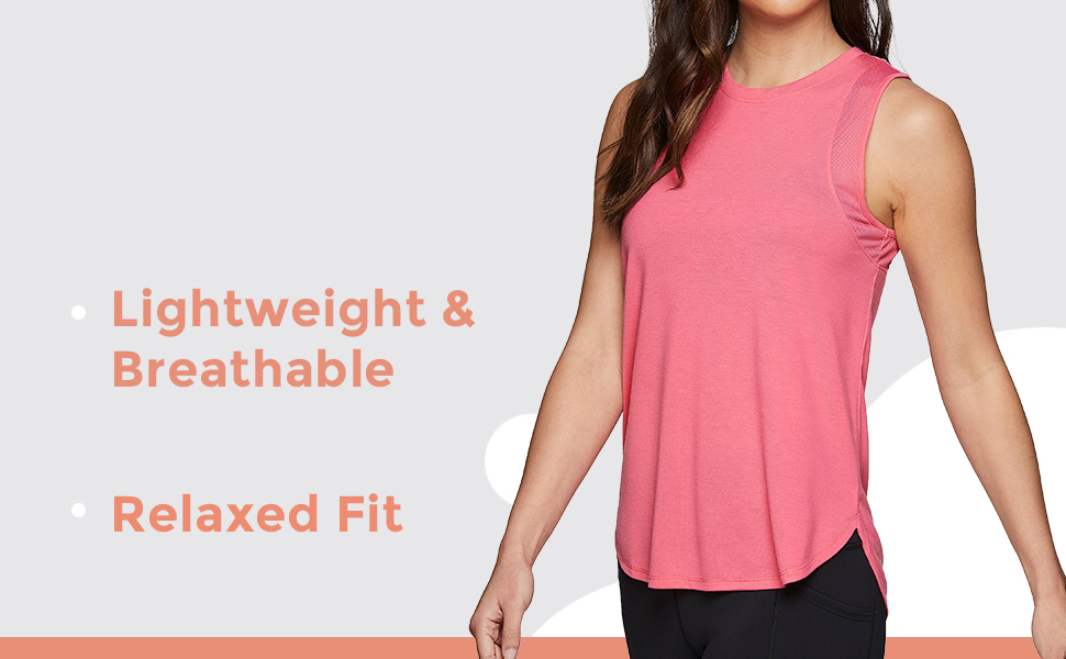 Lightweight and Breathable, Relaxed Fit
