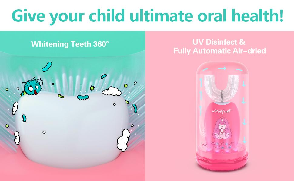 Give your child ultimate oral health!