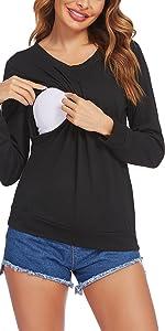New Long Sleeve Nursing Tops