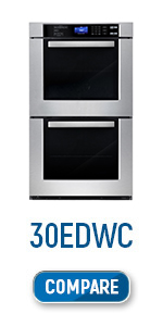 Cosmo, 30EDWC, Electric Wall Oven, Electric double Oven, European Convection, double oven