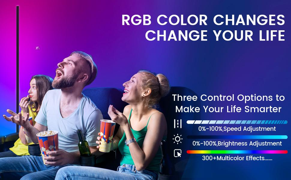 RGB color changes change your life