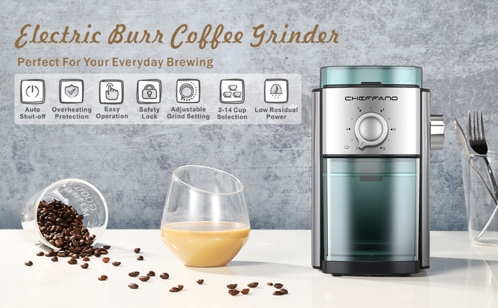 burr grinders for coffee beans