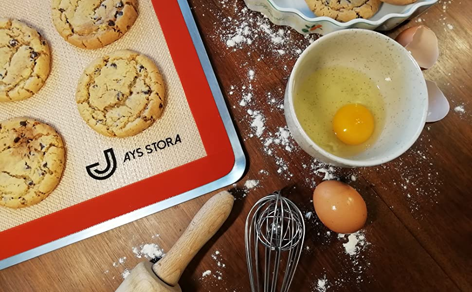 Tapis Jays stora avec cookies