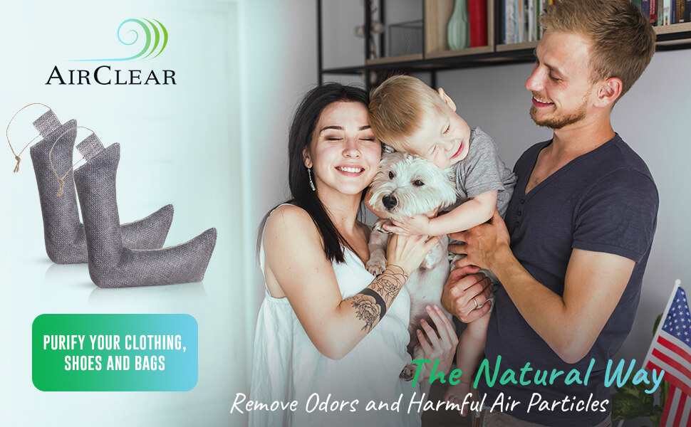 PURIFY YOUR CLOTHING, SHOES AND BAGS THE NATURAL WAY