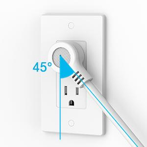 6.5 FT Flat Plug Extension Cord
