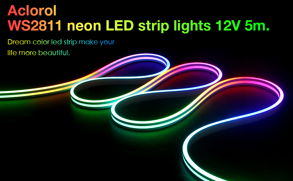 WS2811 LED STRIP 5M NEON LED Strip