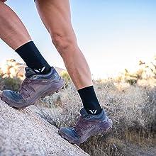 running workout cycling marathon trail running sports crew socks
