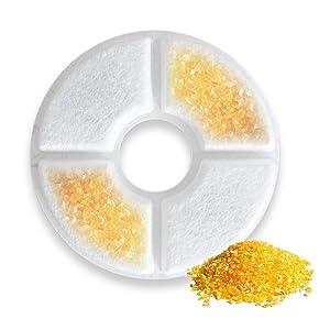 Porous weak acid ion exchange resin