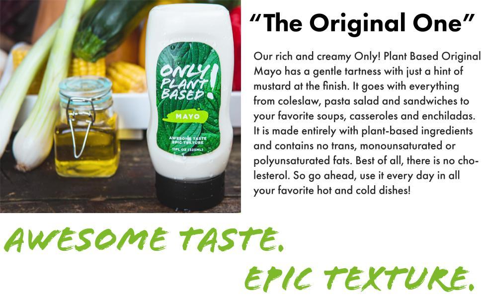 Only! Plant Based Original Mayo