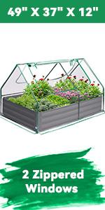 Galvanized Garden Bed