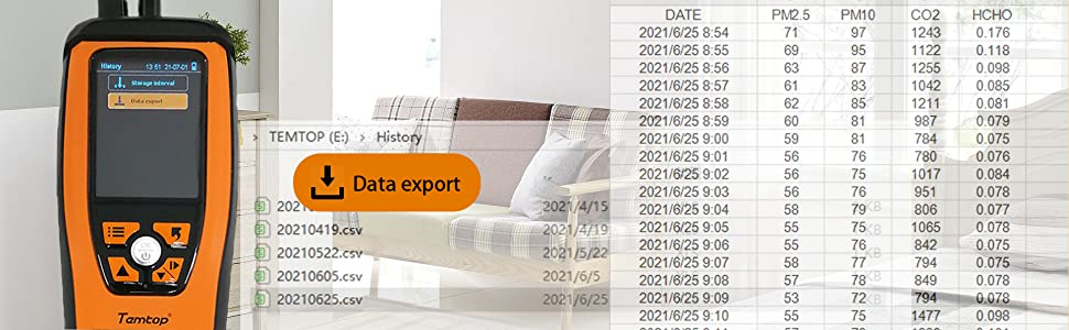 data export M2000 2nd