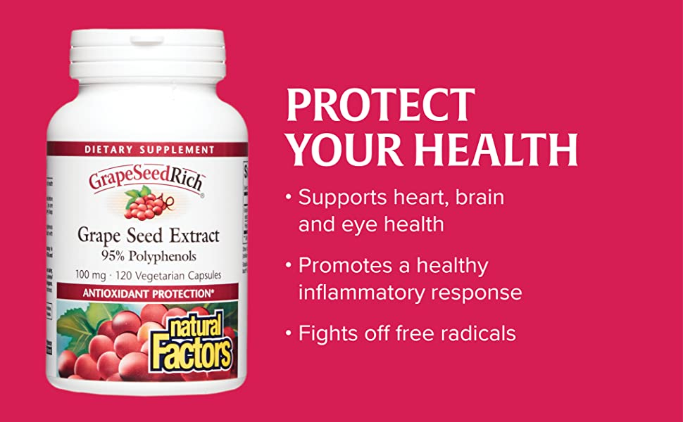 Protect your health. Supports heart, brain and eye health. Promotes a healthy inflammatory response