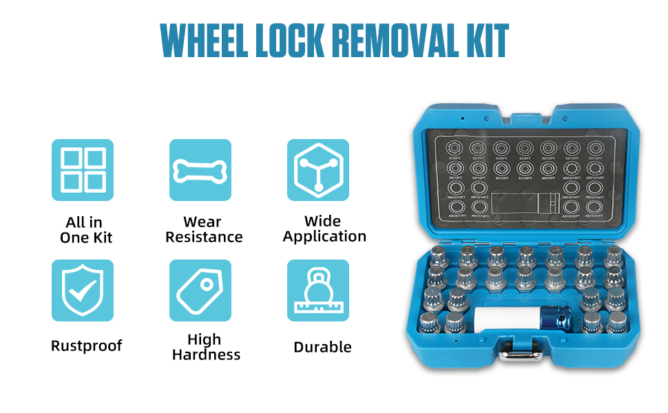 Wheel Lock Removal Kit