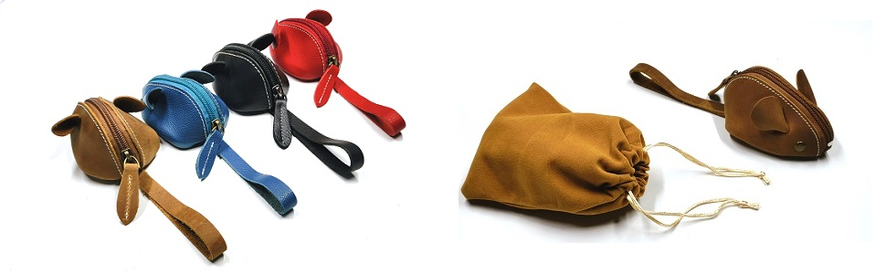 leather change purse for women kids