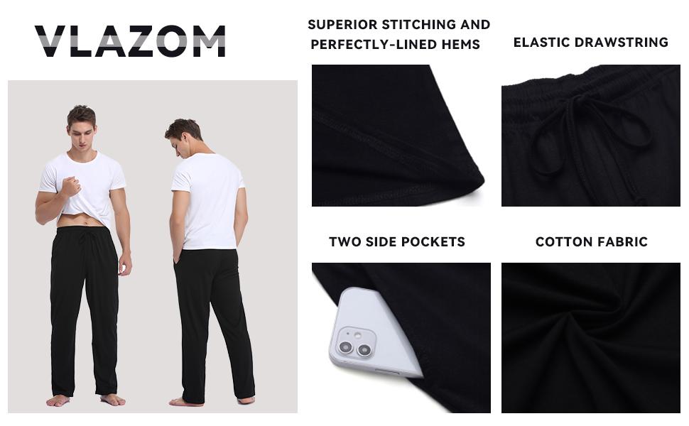 mens lounge pants,big size pj bottoms men,checked pj pants mens,cotton lounge pants for men
