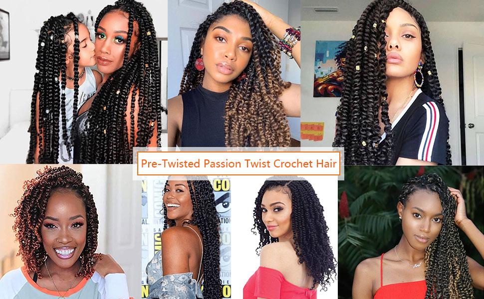 toyotress passion twist ombre hair,kids short bob passion twist braiding hair,crochet hair braiding