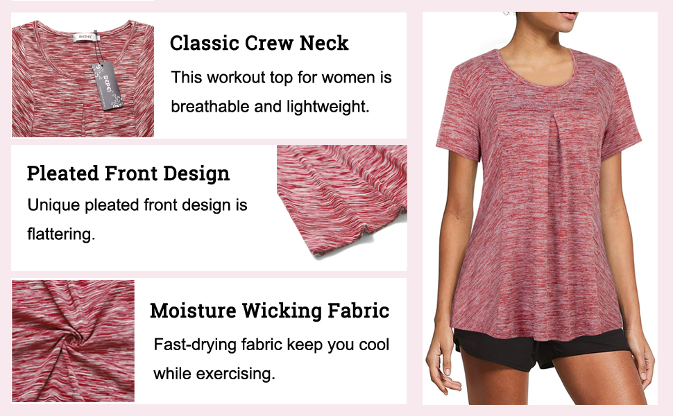 workout tops for women loose fit