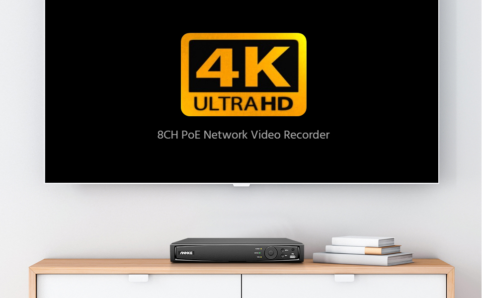 4K POE Camera system