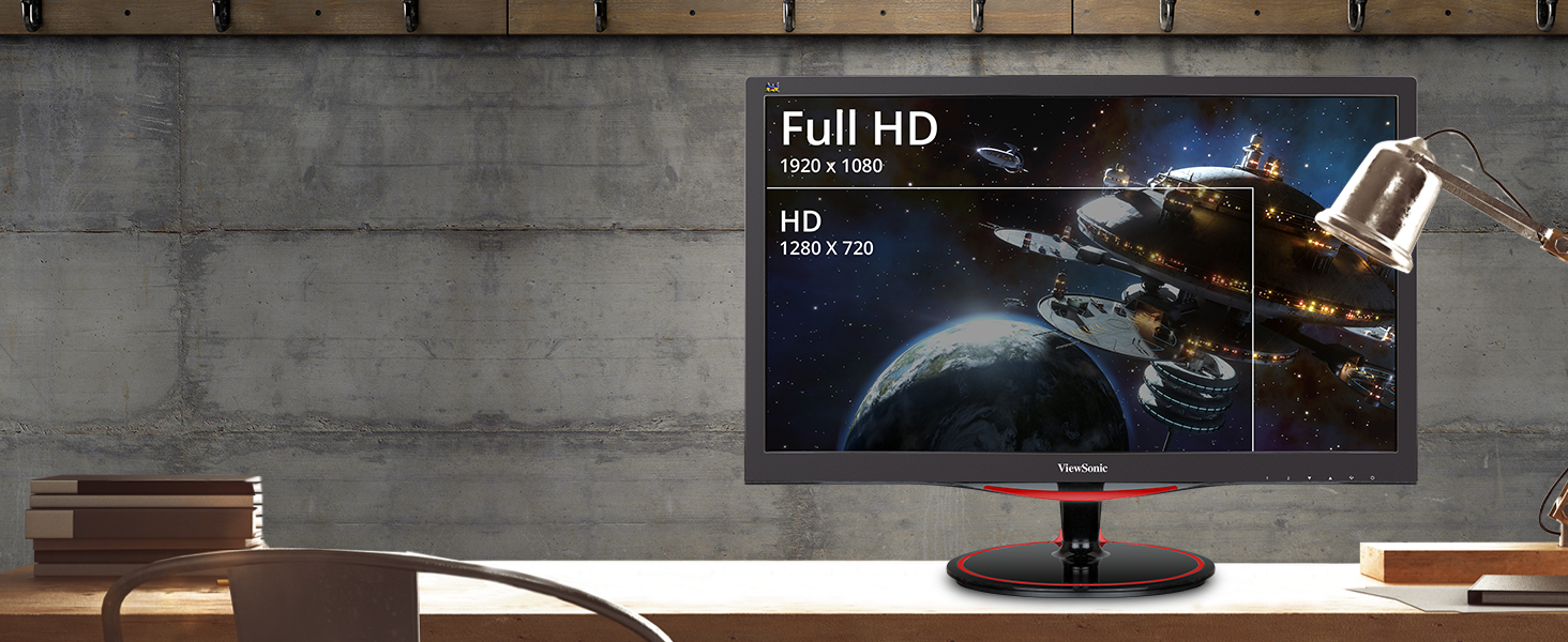 Stunning HD Resolution