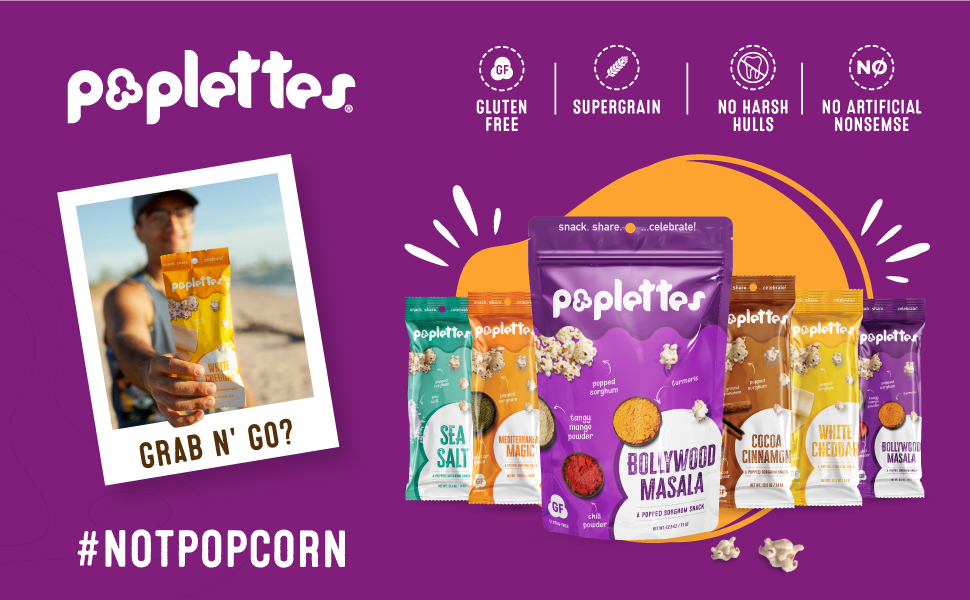 poplettes - brand highlights