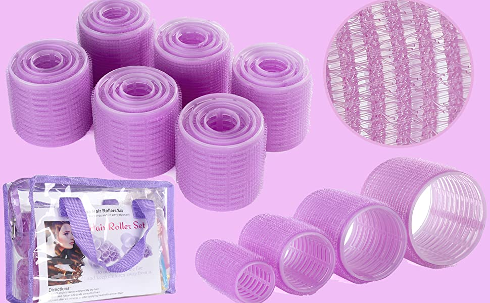 large size hair rollers