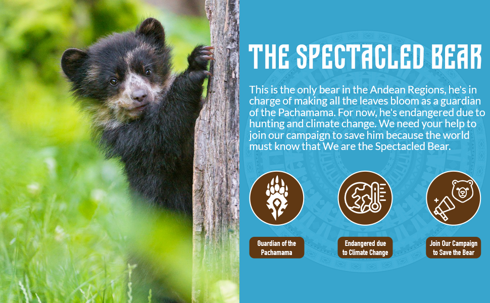 social mission wipala snacks spectacle bear andean ecuador guardians pachamama kids veggie bars