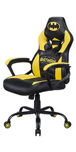 siege fauteuil gaming enfant batman
