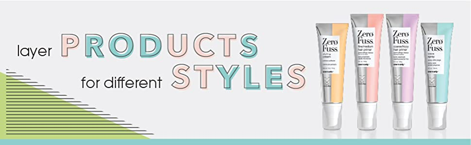layer products for different styles