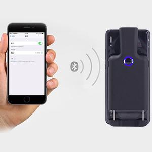 Portable Back Clip Wireless 1D 2D QR Barcode Reader